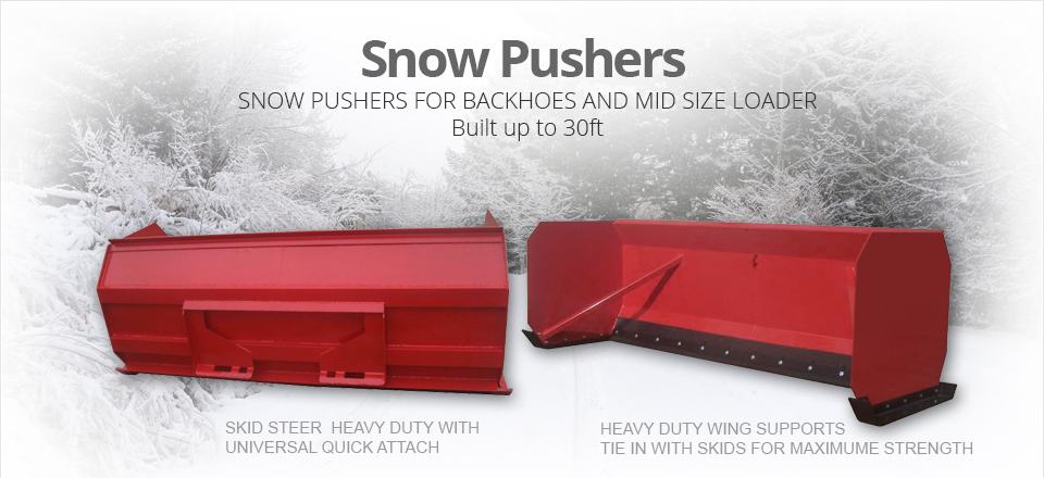 snow-pushers